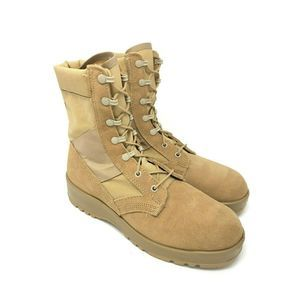 Other - Tan Leather Army Combat Boot 8.5 (runs big)